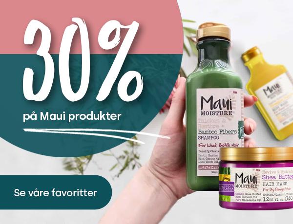 Nå har vi 30% rabatt på alt fra Maui! Du får alltid gratis frakt, rask levering og gode priser på Apotera. Ditt apotek på nett
